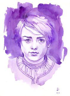 Arya (inked) by Yuminette