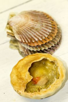 Scallops in Mussel Cream