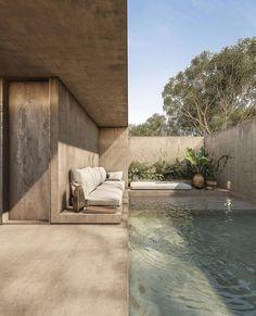 Dream Home Design, My Dream Home, Home Interior Design, Interior Architecture, Minimalist Architecture, Tropical Architecture, Concept Architecture, Modern House Design, Exterior Design