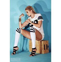 Gigi Hadid for Adweek #shoot