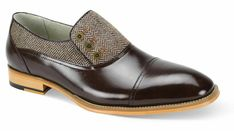 Premium Leather Gray Tweed Black Tone Cap Toe Loafers Vintage Men Button Shoes sold by Lajuria. Shop more products from Lajuria on Storenvy, the home of independent small businesses all over the world. Suede Leather Shoes, Cowhide Leather, Cow Leather, High Ankle Boots, Shoe Boots, Cowboy Shoes, Custom Design Shoes, Custom Shoes, Cap Toe Shoes