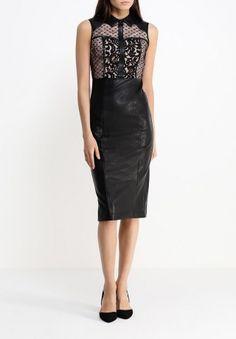 Платье LOST INK, цвет: черный. Артикул: LO019EWEFK37