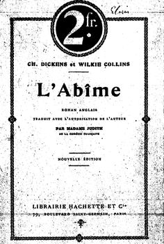 William Wilkie Collins. L'âbime