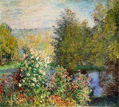 Claude Monet - The Corner of the Garden at Montgeron
