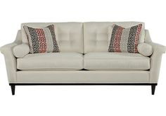 Shop for a Sofia Vergara Angora Off-White Sofa at Rooms To Go. Find Sofas that will look great in your home and complement the rest of your furniture.