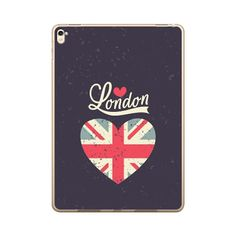 9.7-inch IPad Pro Love London With Uk Flag Heart Case