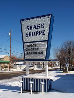 Shake Shoppe.........Gallipolis, Ohio.