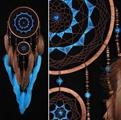 Brown Dreamcatcher turquoise Dream Catcher medium Dreamcatcher Dream сatcher idea dreamcatcher boho dreamcatchers wall handmade gift