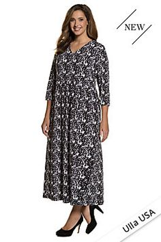53f234a4506b New plus size Dresses at Ulla Popken | ULLA POPKEN. Φορέματα Για Γεμάτες