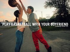 no. hee would love me even more. #boyfriend #basketball