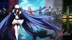 Awsome wallpaper !! <3 <3 <3 akame ga kill, tatsumi and esdeath, tatsumi and esdeath in love