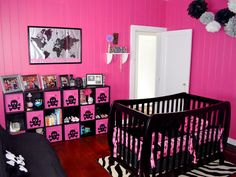Gorgeous punk nursery.