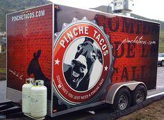 Pinche Tacos Branding, Food truck design, Menu Design, Denver, Graphic Design
