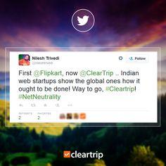 #NetNeutrality #CleartrippersSpeak