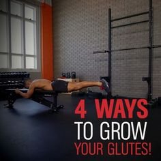 4 WAYS TO GROW YOUR GLUTES 🍑 from MH fitness director BJ Gaddour (@bjgaddour)! Weak, underdeveloped glutes lead to poor performance and back pain (and pants that fall off your arse). The key on all of these variations is to move through the #hips, not the lower back. And be sure to hold the top position for at least a full count for a maximum #glutes contraction. BJ's favorite variation is the last one shown in the video with the mini-band wrapped around your ankles. Do 3-5 sets of max…