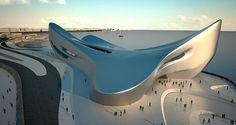 レッジョ・ディ・カラブリアのレギウム・ウォーターフロント再開発計画(地中海博物館) ザハ・ハディド