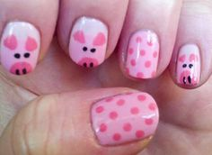 How about on our toes!!  looks like something my dtr in law could do!!!!  piggies!