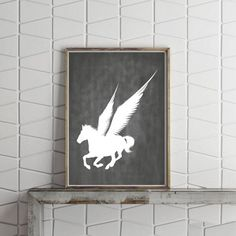 Black  White Prints Minimalist Poster White Wall by VividPictures