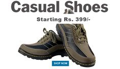 Buy Casual Shoes for Men online. Huge selection of Men Casual Shoes at Myshopbazzar.com