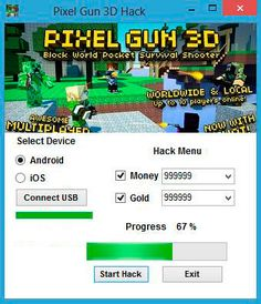 Click Here To Free Download Auto updated Game:  Pixel Gun 3D Hack Cheat Tool: