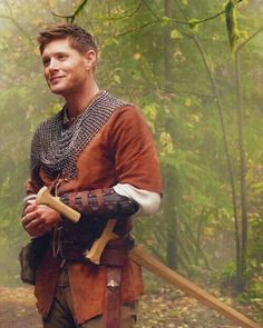 It's so incredibly sad how sexy I find him in LARP attire.