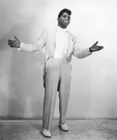 """""""Godfather of Soul"""" James Brown poses for a portrait in 1956 in New York, New York. Get premium, high resolution news photos at Getty Images James Brown, Smokey Robinson, Vintage Black Glamour, Old School Music, Black History Facts, Music Images, Iconic Photos, The Godfather, Popular Music"""