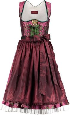 Lola Paltinger Designer Dirndl bordeaux Happy Heidi