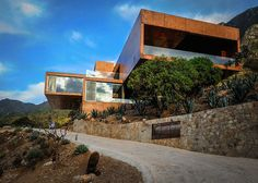 A House in The Mexican Landscape