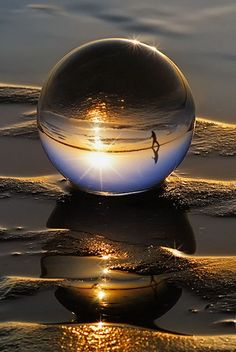 Glazen bol mindfulness