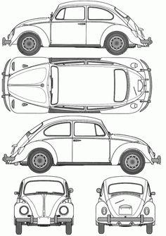volkswagen bogár rajz - Google keresés