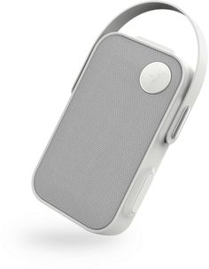 The ONE CLICK is a portable wireless speaker with Fullroom sound and a splash-proof design made to bring & hang anywhere. Mobiles, Mobile Gadgets, Wireless Speakers, Leon Speakers, Speaker Design, Wearable Device, Audio, Interface Design, Portable