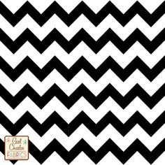 Black Chevron on White Cotton Jersey Blend Knit Fabric - would like to make a wrap short sleeve maxi, inspired by Angela Bassett on Coven.