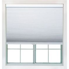 Redi Shade 23.25-In W X 72-In L Snow Light Filtering Cellular Shade Z0