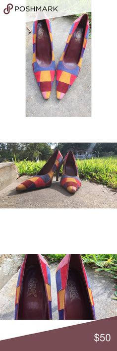 Carlos by Carlos Santana Made in Brazil . Size 7 woman Carlos Santana Shoes Heels