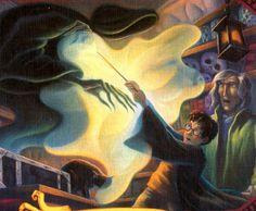 哈利波特Harry Potter 催狂魔 護法咒