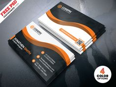 Modern Business Card Designs Template PSD designed by PSD Freebies. the global community for designers and creative professionals.