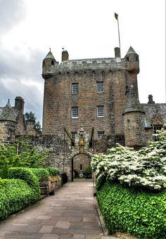 Scotland Travel Inspiration - Cawdor Castle, Nairn, Scotland