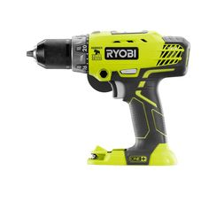 Quickly drill holes with this Ryobi ONE+ Cordless Hammer Drill or Driver with Handle. Use hammer mode to drill holes in masonry and concrete. Ryobi Tools, Cordless Hammer Drill, Cordless Tools, Driver Tool, Drill Driver, Home Depot, Power Tool Batteries, Power Tools