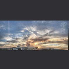 #AgsMx 26/04/17 #IncendioForestal Cerro del Muerto #ForestFire #Atardecer #sunset #instaphoto #mextagram #streetphotography #fotografiacallejera #landscape #iphone6s
