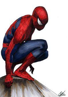 #Spiderman #Fan #Art. (Spider-man WIP) By: Gattadonna. (THE * 5 * STAR * AWARD * OF * ÅWESOMENESS!!!™)