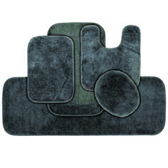 Pretty bathroom rug sets at kohls exclusive on homestre home decor Dark Brown Bathroom, Dark Blue Bathrooms, Blue Bathroom Rugs, Home Depot Bathroom, Bathroom Doors, Washroom, Bathroom Flooring, Bathroom Floor Coverings, Toilet Mat