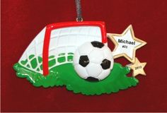 Their Goalie is Doomed Soccer Personalized Christmas Ornament