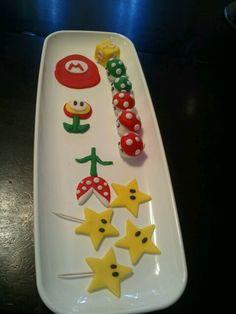 Super Mario Cake Decorations