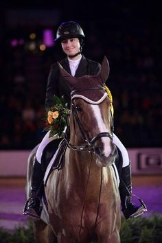 Not only does Reed Kessler get to win the 1.45 on Soraya and the GO Qualifier on Cylana yesterday, but she also gets to win again today at the German Masters! Congrats Reed! You deserve it 100%