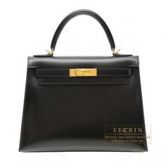 e778c784767b Lecrin Boutique Tokyo  Hermes Kelly bag calf leather Gold hardware -  Purchase now to accumulate reedemable points!