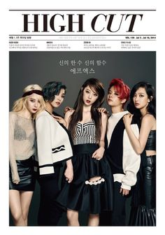 f(x) are all mature as they posed on the recent issue of magazine, 'High Cut.' http://www.kpopstarz.com/tags/shinee