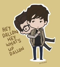 Brendon Urie & Dallon Weekes aka Brallon... I swear they are the cutest thing! x) c: