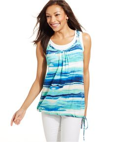 Style&co. Layered-Look Tank Top - Tops - Women - Macy's