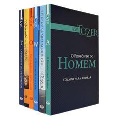 Kit A.W Tozer Vida Cristã (6 livros) - 6 livros / Kit Com 6Livros de A. W Tozer: A. W. Tozer foi pastor da Christian and Missionary Alliance [Al...