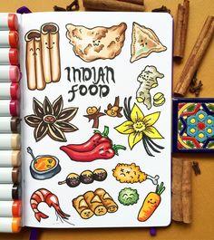 "281 Gostos, 6 Comentários - Ekaterina (@alexkipnis) no Instagram: ""Indian spicy food """